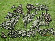 Camouflage Net Genuine British Army Surplus. 1.5m x 1.4m