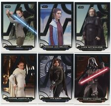 2018 Star Wars Galactic Files Mini-Master 257-Card Set W/ Base + 6 Insert sets