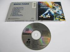 SHOK PARIS Steel and Starlight CD 1987 MEGA RARE OOP ORIGINAL 1st PRESSING USA!!