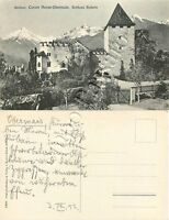 Cartolina di Merano, Castel Rubein - Bolzano