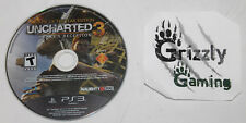 USED Uncharted 3 Drake's Deception GOTY Edition PS3 (NTSC) (Disc Only)
