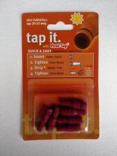 "ZRTL-641-6 Lockitt Posi-Tap red ""mini"" wire tap for 20-22 ga.(PTA2022M) 6 pack"