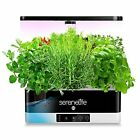 SereneLife Smart Starter Kit-Hydroponic Herb Garden Indoor Plant System w/Hei... picture