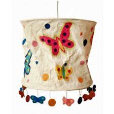 LOKTA Papierlampe / Hängeleuchte - Schmetterlinge natur ... NEU/OVP