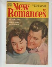 New Romances 5 VG+ (4.5) 5/51 Standard Comics! Photo cover! 1st issue!