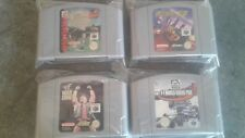 4 Game Cart Bundle  for the Nintendo 64 Console ISS, WWF, F-1, Extreme G #Z1