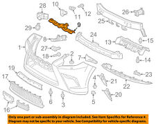 *NEW LEXUS GX460 GX470 IS200T IS250  IS300 LINER EXTENSION CLIP OEM FRONT BUMPER