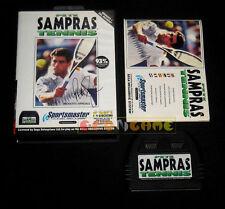 PETE SAMPRAS TENNIS Mega Drive Megadrive Md Versione PAL Italiana »»»»» COMPLETO