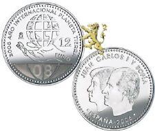 MONEDA 12 EUROS ESPAÑA 2008