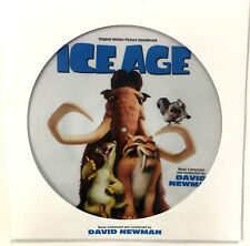 ICE AGE PICTURE DISC SOUNDTRACK VINYL 2018 LP NEW RSD BLACK FRIDAY David Newman