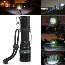 3000 Lumen Zoomable CREE XM-L Q5 LED Flashlight Torch Zoomable Super Bright New