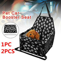 Car Folding Travel Cage Booster Carrier Belt Bag Seat Cover Puppy Pet Dog Cat