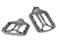 n8tive forme plate , Pédale noax de 1 BMX MTB Descente Montagne Bike Velo Gris