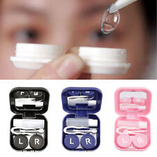 Mini Portable Contact Lens Storage Case Box Container Travel Kit Prevent Leakage