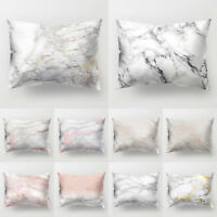 EG_ MARBLE PATTERN THROW PILLOW CASE SOFA BED CUSHION COVER HOME DECOR STUNNING