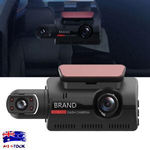 Dash Cam Recorder Dual Lens Camera HD 1080P Car DVR Vehicle Video G-Sensor