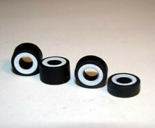 SET of 4 WHITE WALL TIRES for T-JETS - Brand new  -  $1.75 Shipping