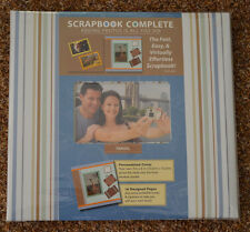 """New ~ Tapestry ~ 12 x 12  Scrapbook COMPLETE Album """"16 Pre-Made Pages""""  TRAVEL"""