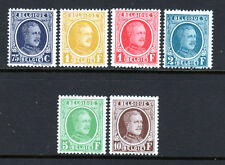 Belgium 1926-27 Scott 185-90 6 Stamps King Albert 5 MNH + 1 MH very nice set! |