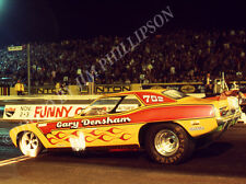 FUNNY CAR PHOTO GARY DENSHAM TEACHERS PET DRAG RACING ORANGE COUNTY 1973 NHRA