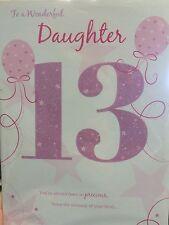 Daughter 13th Birthday Card