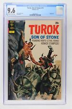 Turok, Son of Stone #79 - Gold Key 1972 CGC 9.6 Painted cover.