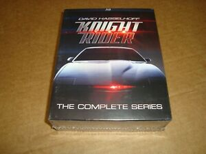 Knight Rider - The Complete Series (NEW Blu-ray, 2016, 16-Disc Set) *See Below!*