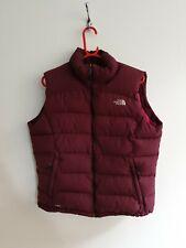 Womens North Face Purple 700 Fill Down Gilet Vest Size XL