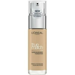 3.N Creamy Beige - Fond de Teint Fluide Accord Parfait de L'Oréal Paris