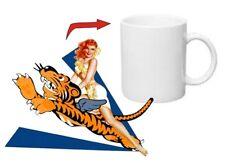 Pin-up Kaffee Tasse Flying Tigers USMC US Army Navy Seals Marines Rockabilly