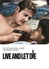 LIVE AND LET DIE DVD  Roger Moore James Bond New Factory Seal FREE SHIP TRACK US