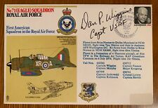 Stamp Cover - Celebrating 1st American (Eagle)Squadron In RAF - Signed/Flown