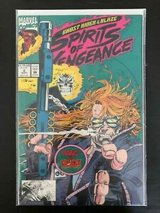 GHOST RIDER BLAZE SPIRITS OF VENGEANCE #2  MARVEL COMICS 1992 VF/NM