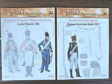 2 Fascicules Delprado - Soldats des Guerres Napoléonniennes N°24 et N°34