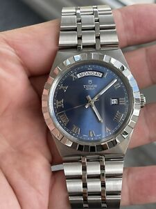 Tudor 41mm Royal Day Date With Blue Dial 28600 (2021 model)