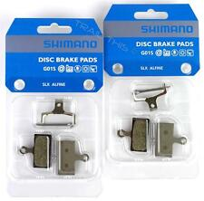 2 Packs Shimano G01S Resin MTB Disc Brake Pads XTR XT SLX - BR-M985/MM785/M666