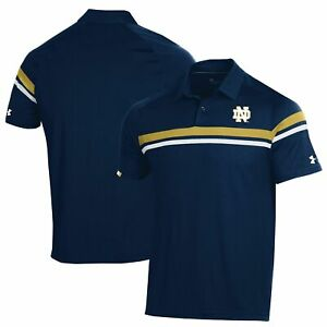 Notre Dame Fighting Irish Under Armour 2019 Sideline Tour Drive Coaches Polo