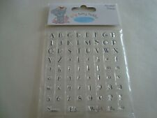 Tatty Teddy Me to You Alphabet Clear Stamps Set 69 Pieces Girl Brand New