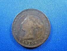 CANADA 1884 ONE CENT COIN  (skc17)