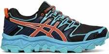 ASICS Women's Fujitrabuco 7 Running Shoe, Aquarium/Blue Expanse, 6 B(M) US