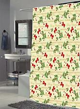 Merry Christmas Fabric shower curtain, 100% polyester 70x72 Color Multi Fsc-Mer