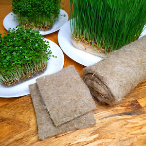 Natural Fibre Mat - Hydroponic Growing Medium - Wheatgrass, Microgreens, Sprouts