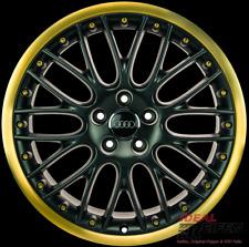 Original Audi Q7 4L W12 20 Zoll Alufelgen Speedline 10x20 ET44 BBS Schwarz Gold