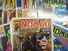 From Avengers Comic lot Nomad 1-13 near mint bagged and boarded