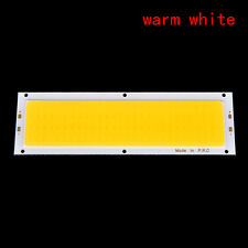 1000LM 10W COB LED Strip Light High Power Lamp Chip Warm/Cool White 12V-24V hot