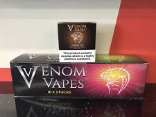 VENOM VAPES #6 TOBACCO. RICH BLEND OF FINE TOBACCO 3mg Nic, 30 x 10ml Bottle