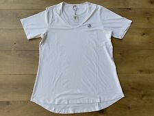Peter Millar Ladies Golf Shirt Short Sleeve Scoop Neck Womens Sz M ( Ls18ek30 )