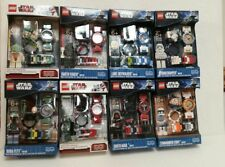 NEW Lego Star Wars Darth & More Buildable Watch minifigure - Lot of 8 - Mint
