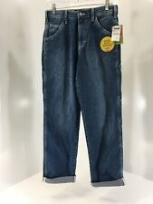 Dickies Juniors Relaxed Soft Touch Carpenter Jeans Medium Wash Size 1/25 NWT=
