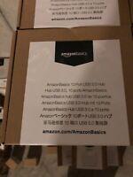 AmazonBasics 10 Port USB 3.0 Charging Hub Docking Station - New
